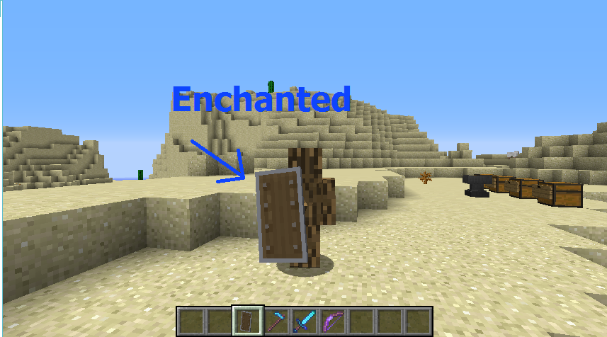 minecraft how to repair shield