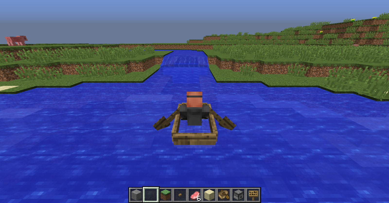 minecraft small boat tutorial