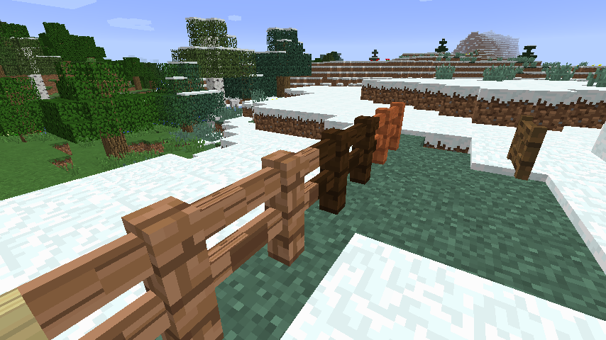 how to make a fence gate in mc