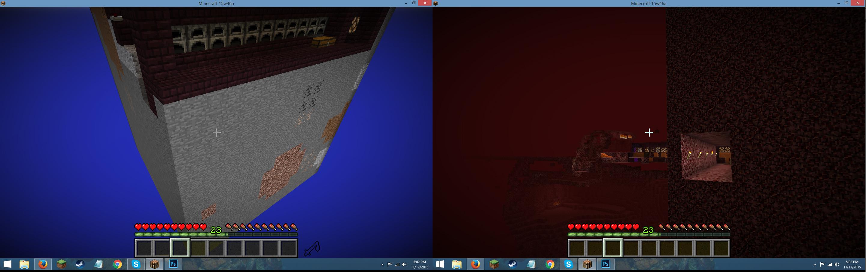 MC Constant Teleporting Between Nether And Overworld Jira - Minecraft teleport singleplayer mod