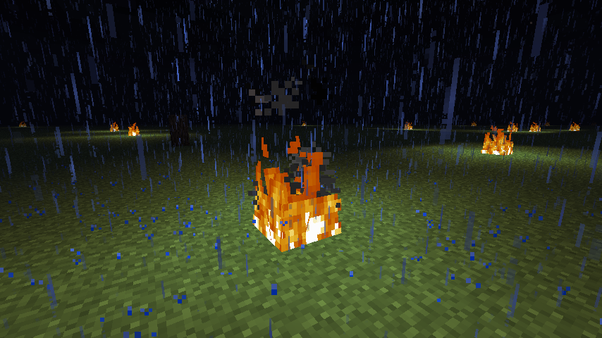 how to turn on fire spread in minecraft