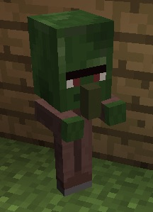 Mcpe 12250 Baby Villager Zombie S Eyebrow Skin Is Wrong Jira