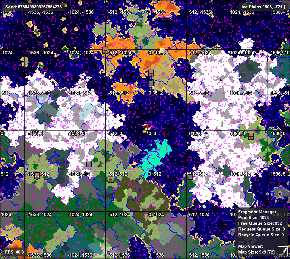 MCCE-1581] Biomes disappearing under the sea level - Jira