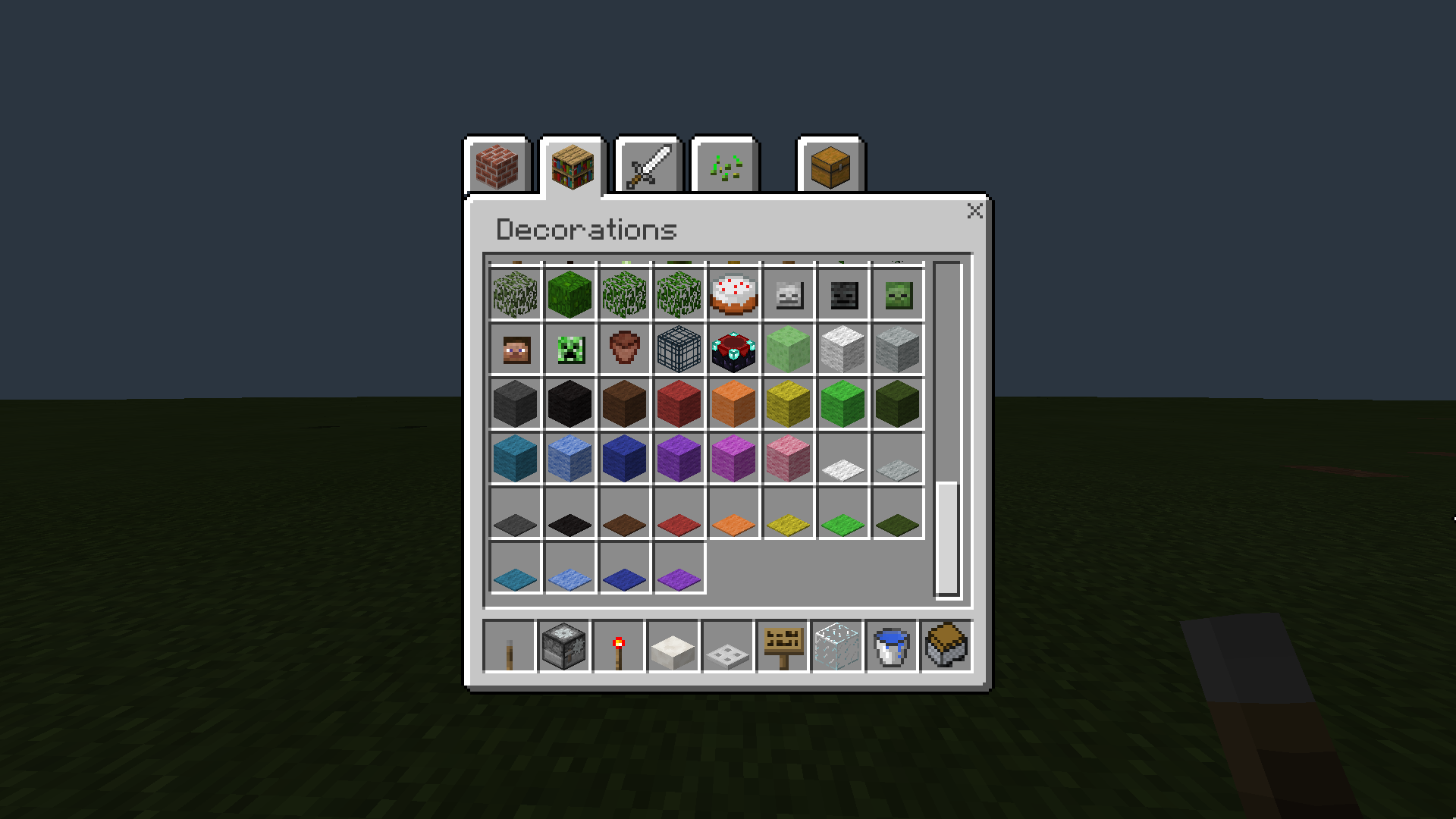 MCPE-13936] Some carpets are missing in Minecraft Windows 10