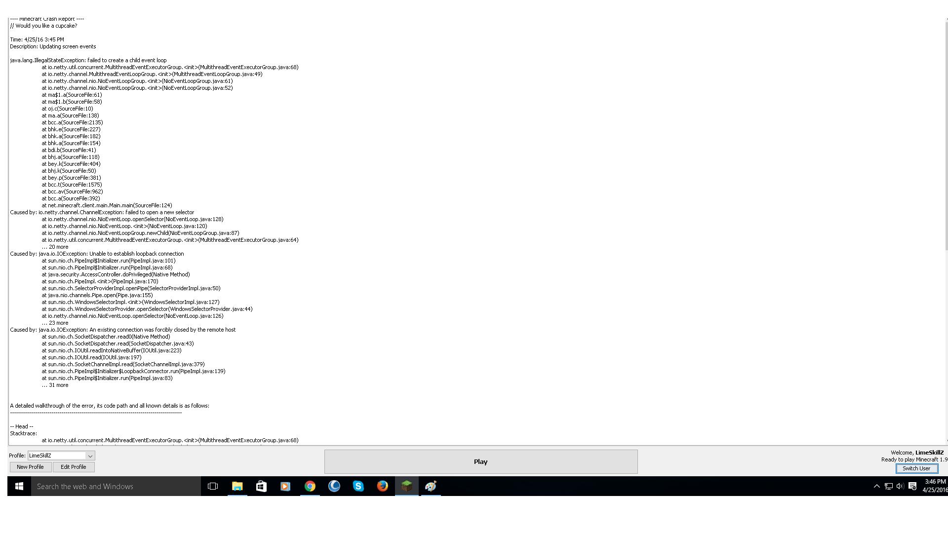 MC-101367] java.lang.nullpointerexception: group - Jira