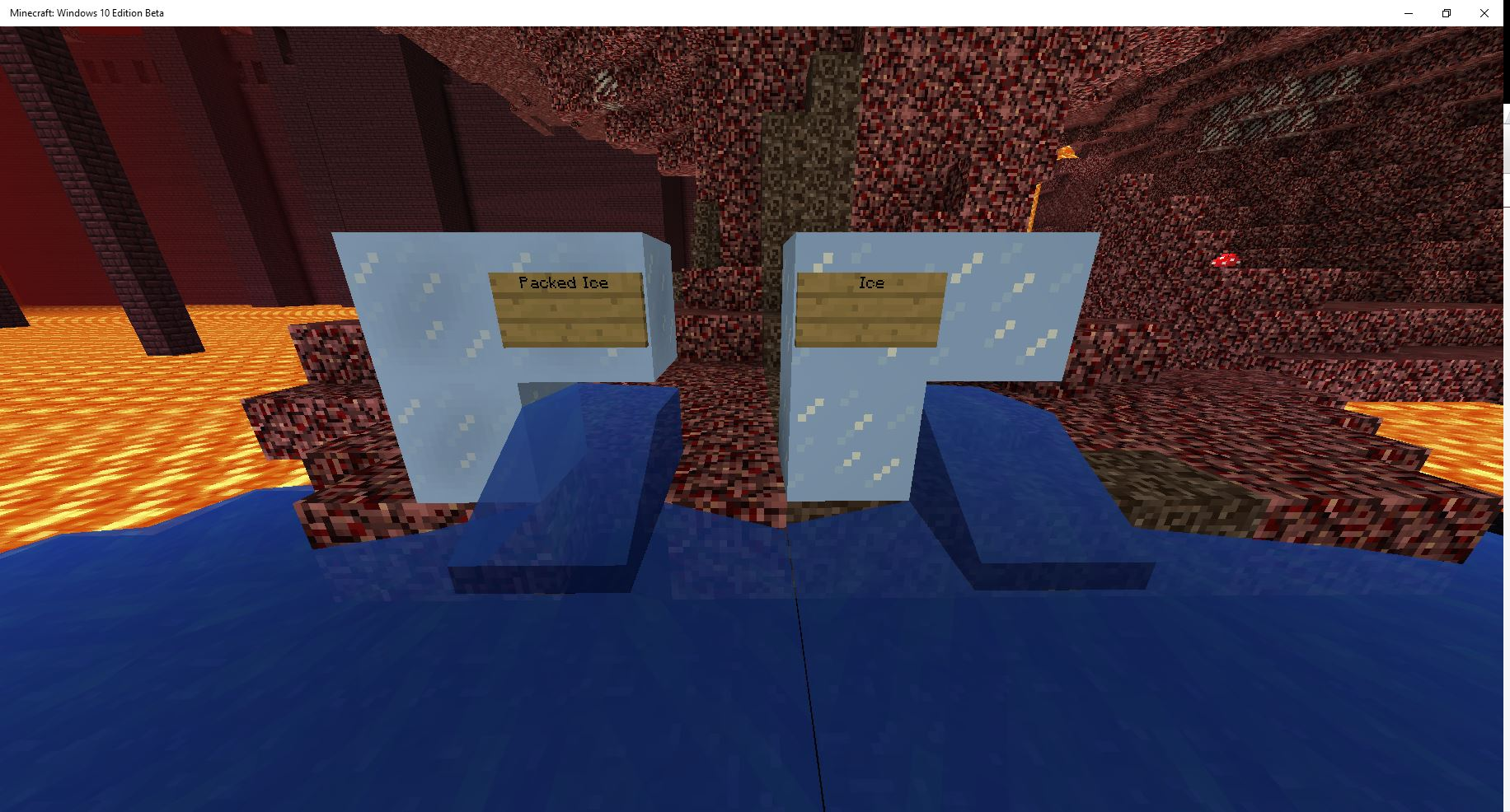 Mcpe 15052 Breaking Ice Creates Water Source Block In The Nether Jira This page contains all hardness values for the latest minecraft version mcreator supports. jira minecraft