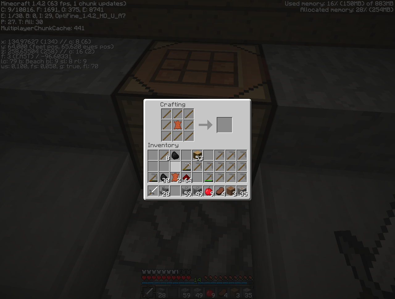 How To Craft A Item Frame In Minecraft
