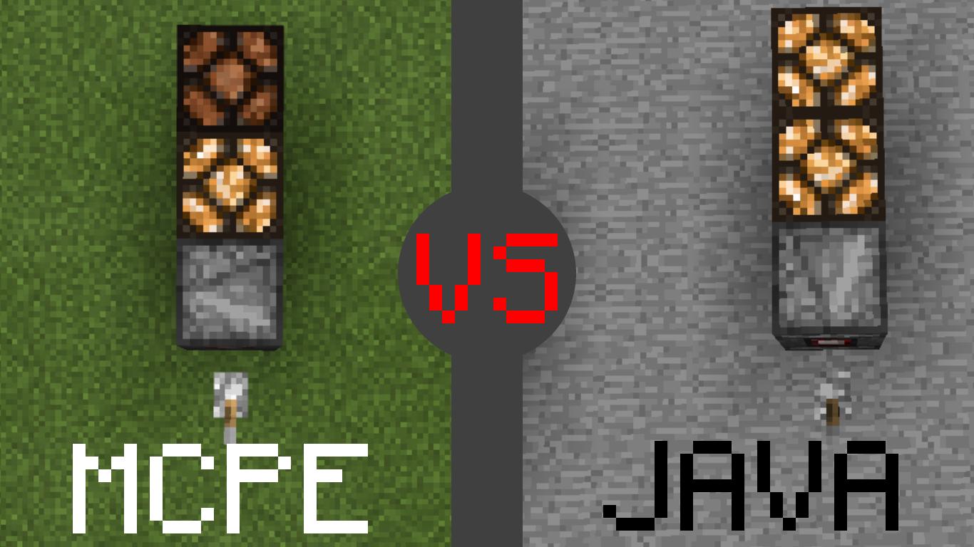 minecraft bedrock and java edition