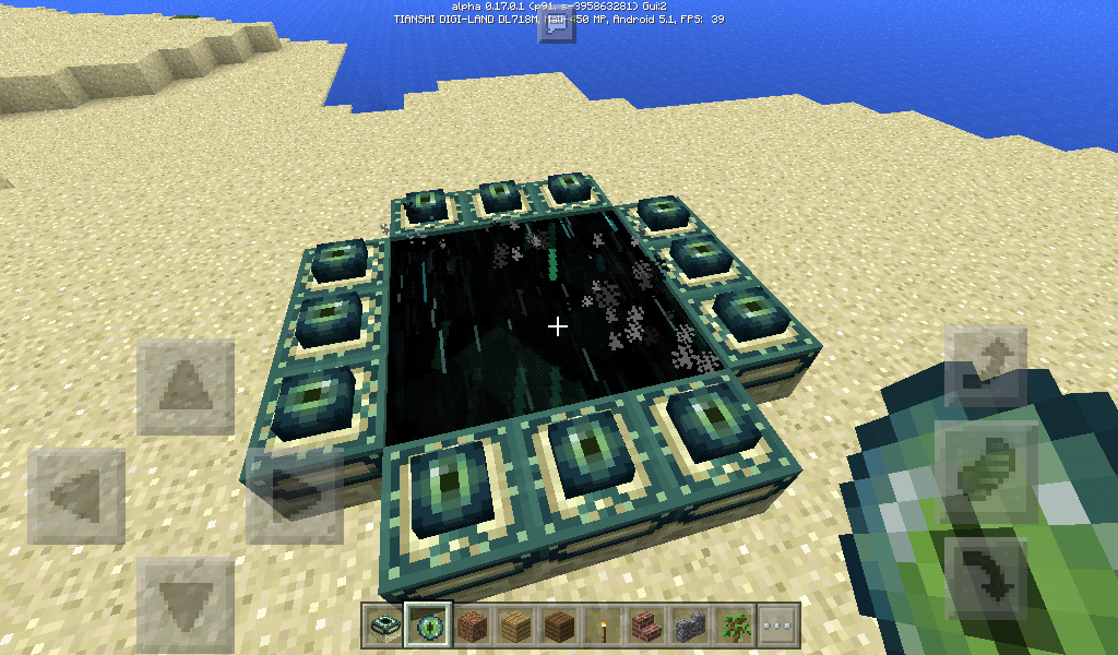 how to make a end portal block