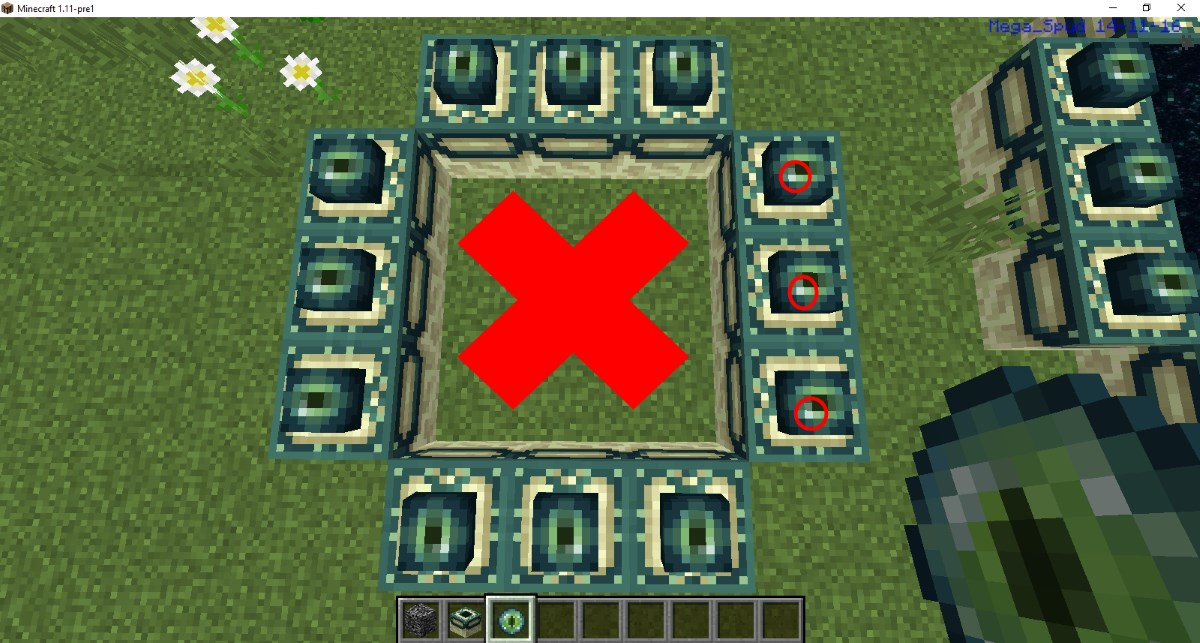 Mcpe 18190 when building an end portal it doesnt activate when screenshot 147g sciox Image collections