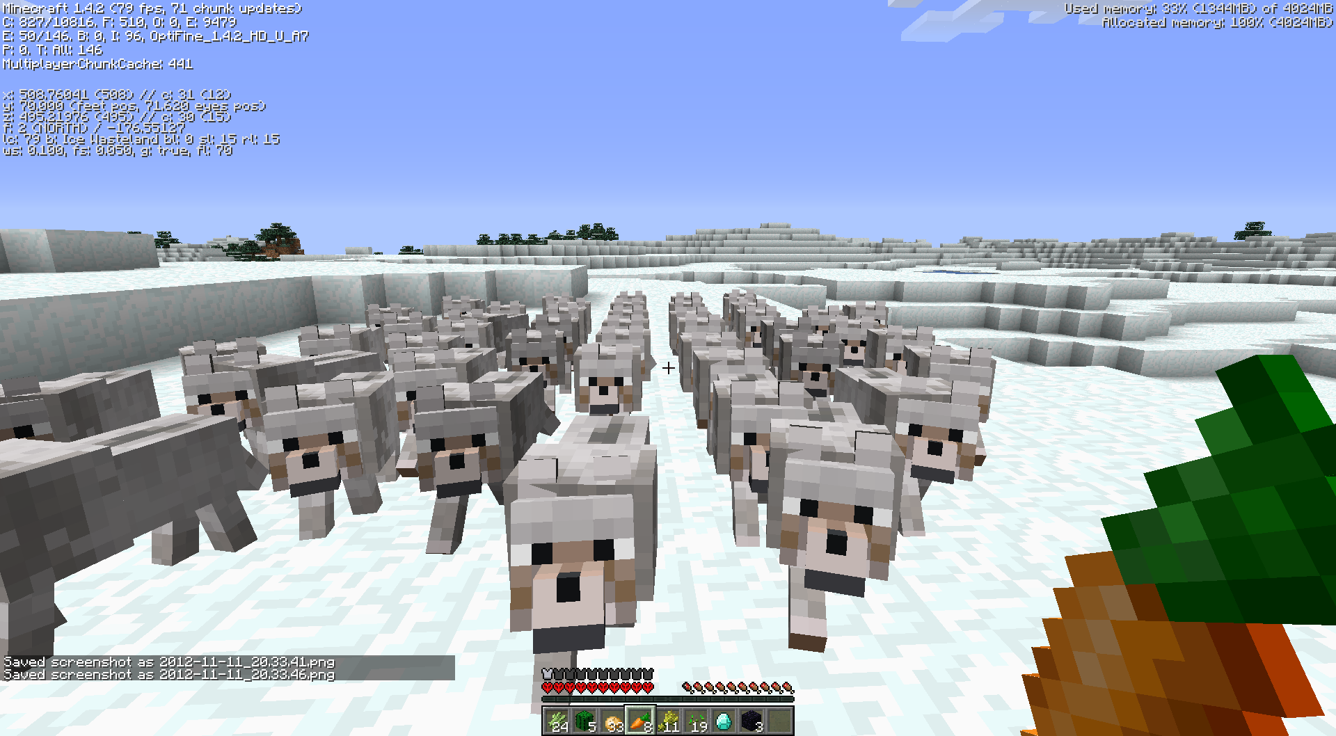 MC-2839] Untamed wolves/ocelots spawning in great numbers