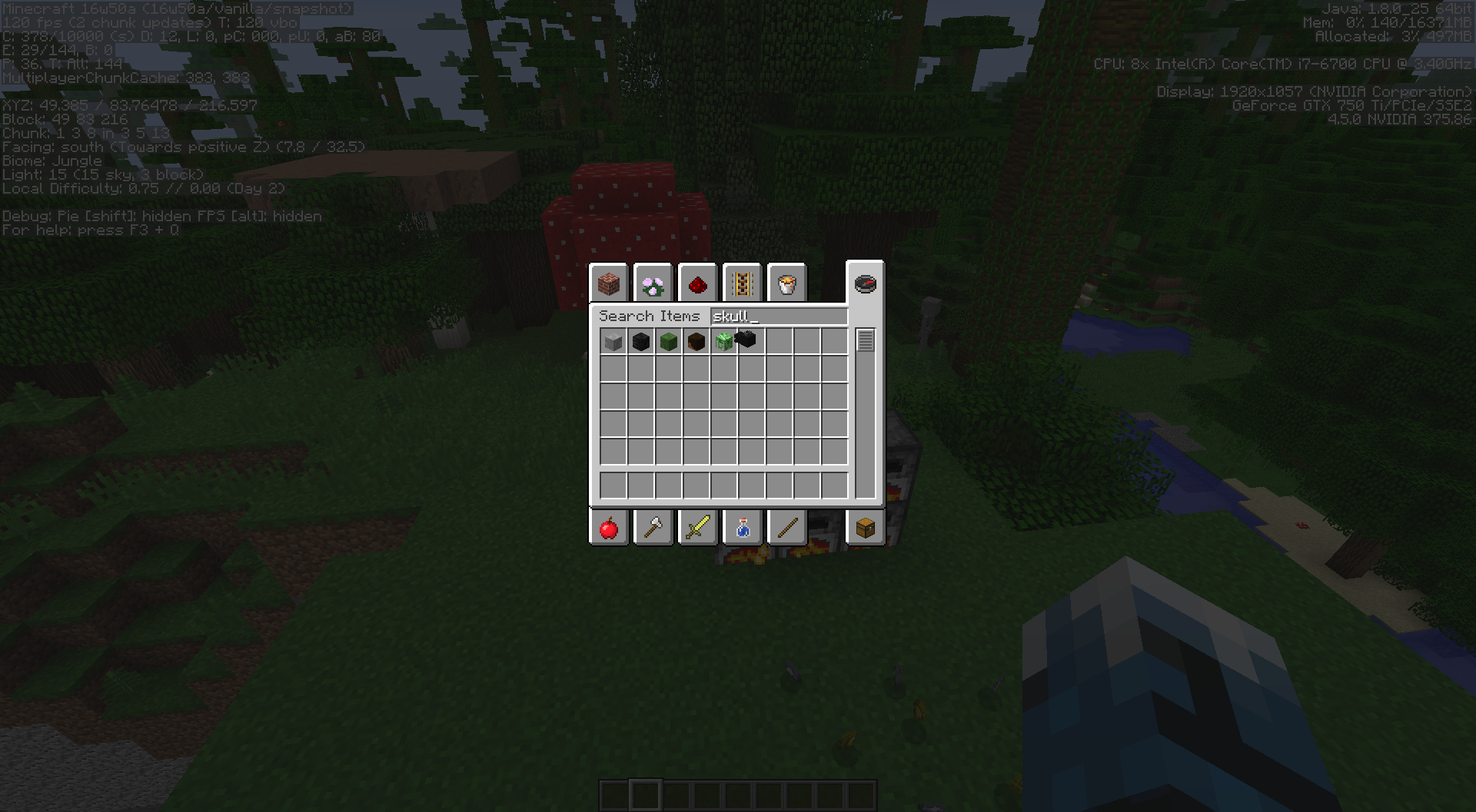 MC Heads In Inventory Face Backwards Jira - Minecraft texture pack item namen andern