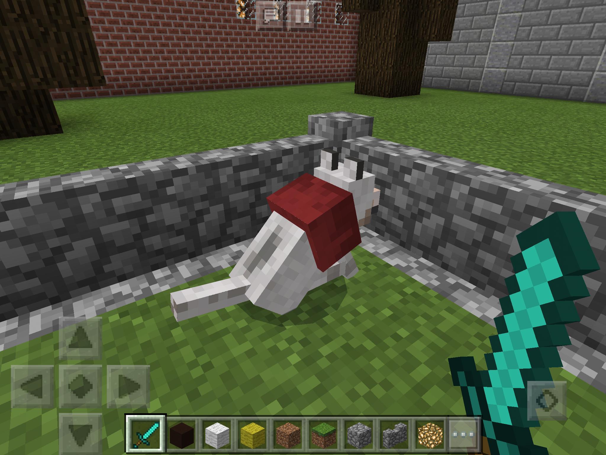 Minecraft wiki wolf collar