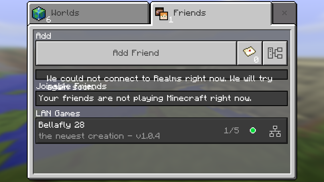 MCPE-20234] Can not connect to xBox Live friends game - Jira