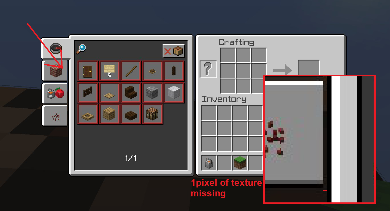 Minecraft Shortcuts Crafting