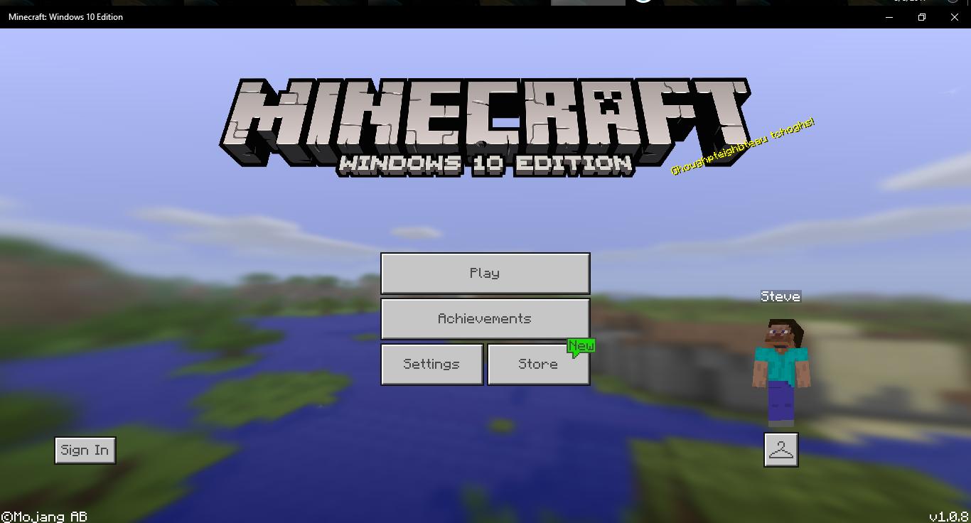 майнкрафт windows 10 edition на андроид #1