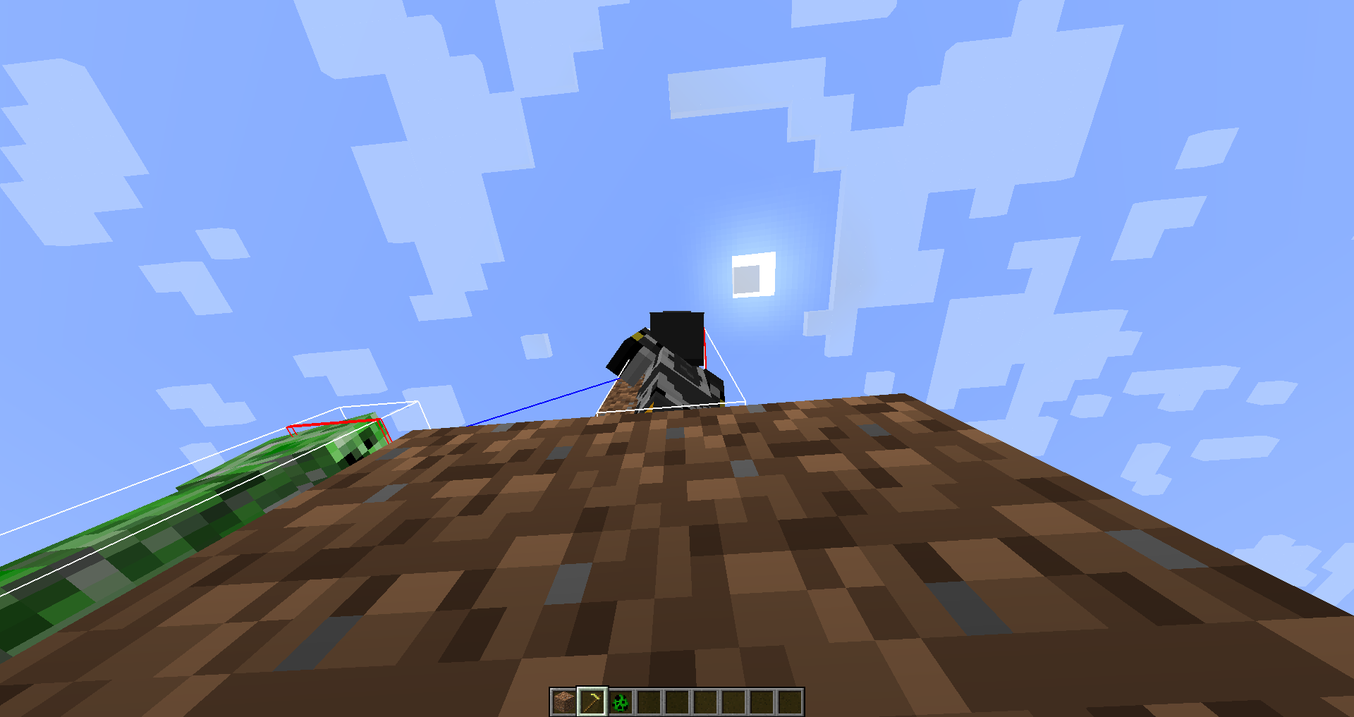 MC Player Mob Stuck On Farmland While It Changes To Dirt - Minecraft teleport player to mob