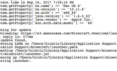 MC-120665] Java 8 is not recognized by the Java Edition
