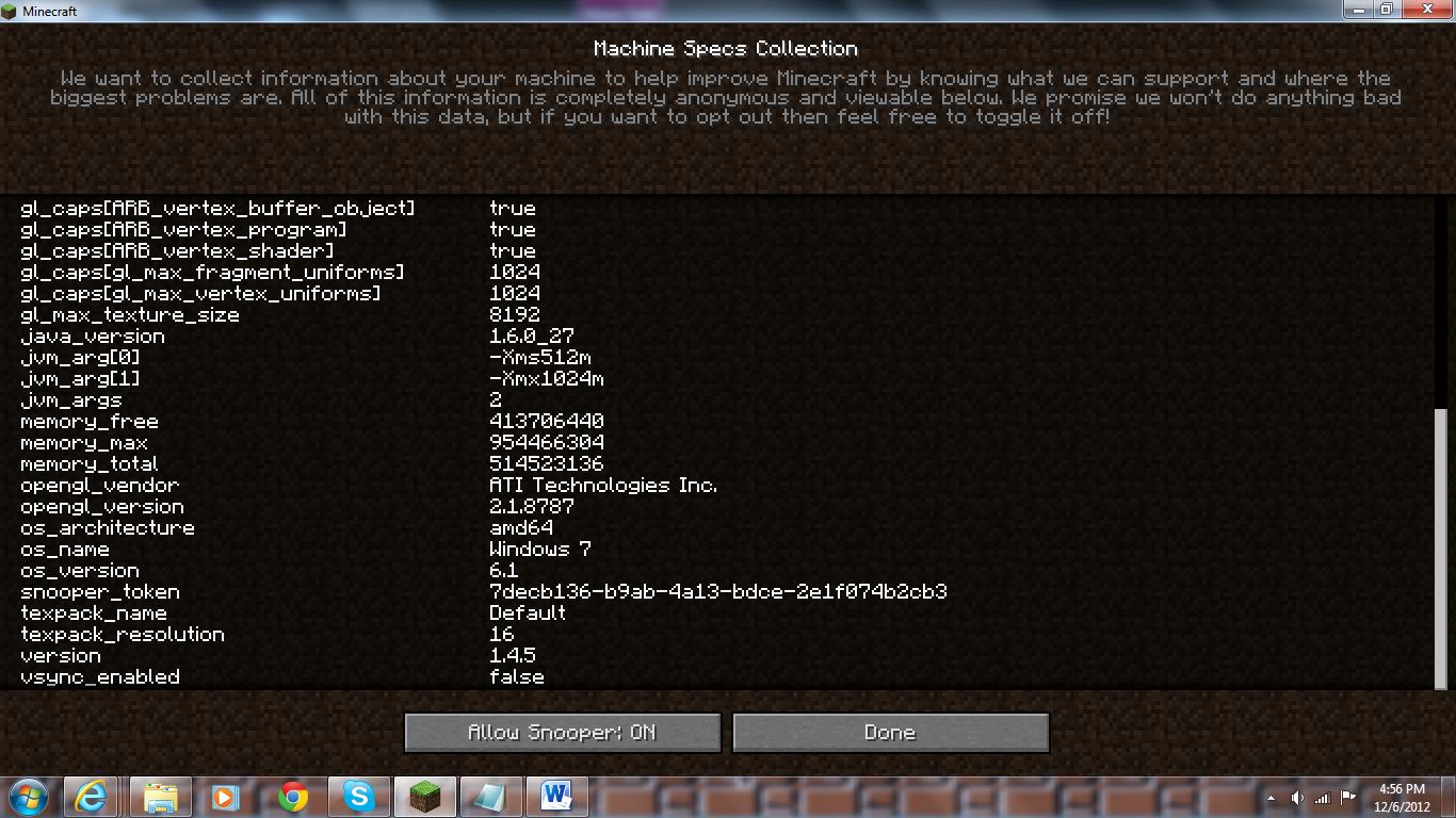 minecraft java latest version