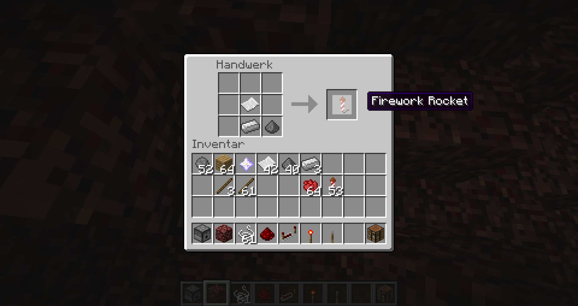 How To Craft A Firework Star In Minecraft