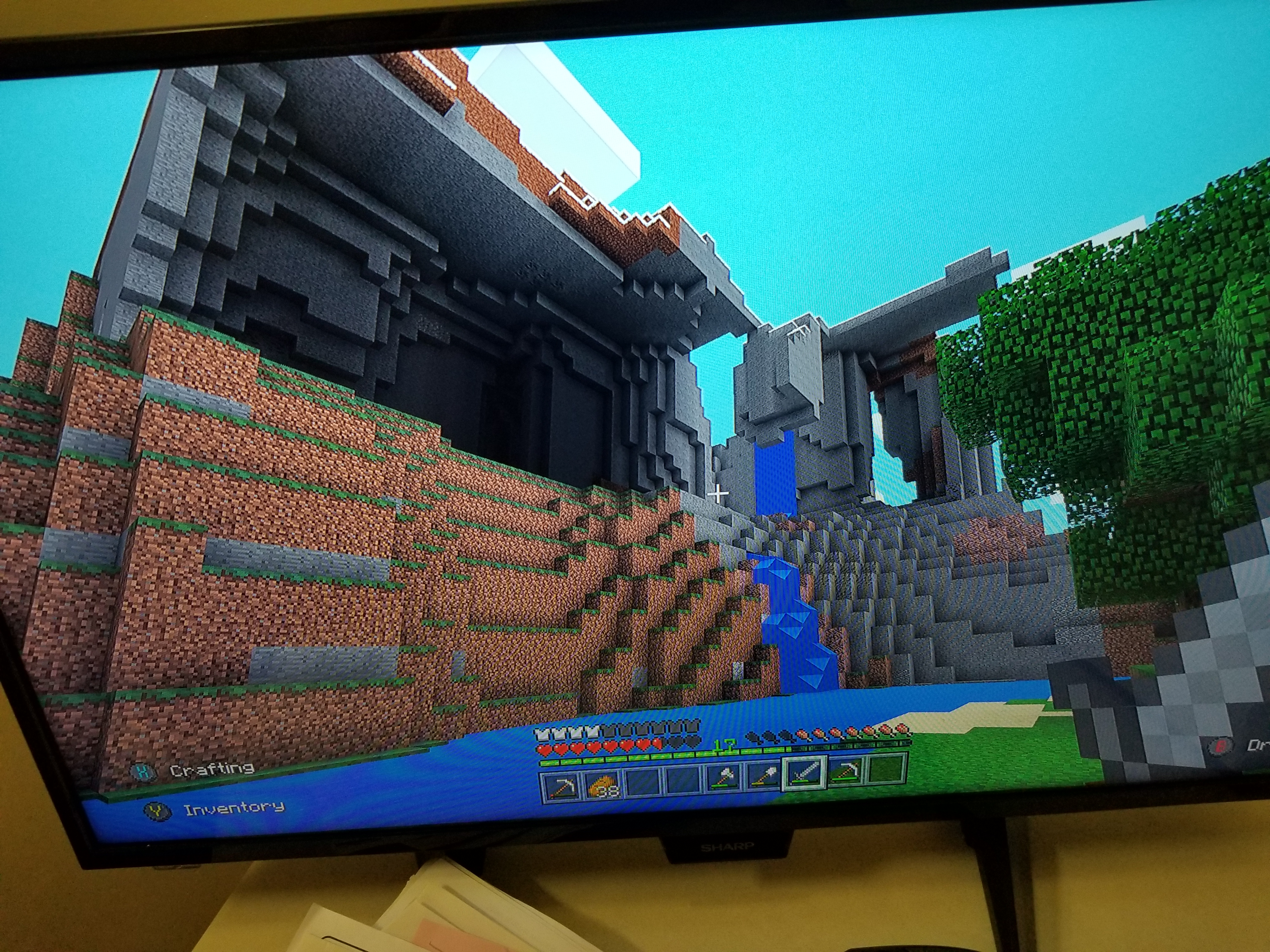 Mcpe 25354 Conversion From Xb1e To Bedrock Edition Causes Chunks To