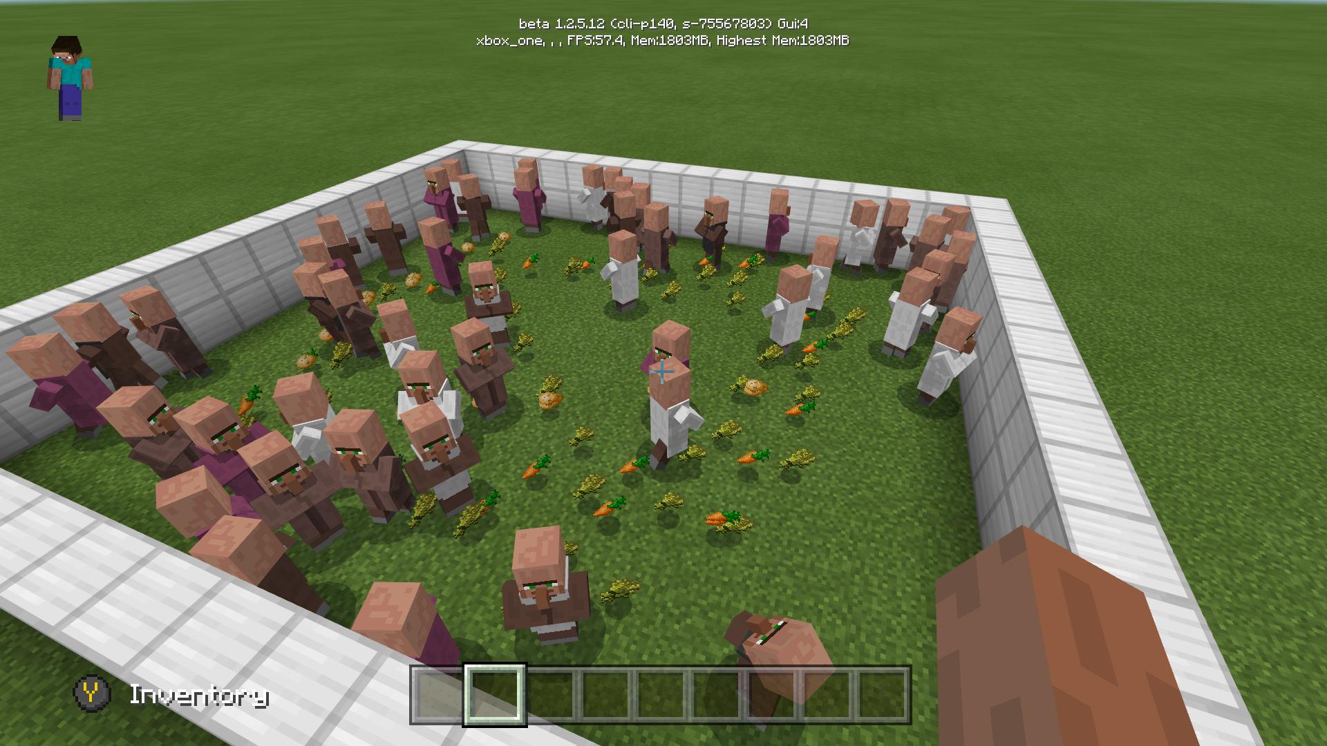 MCPE-28359] Villagers won't pick up wheat/won't breed