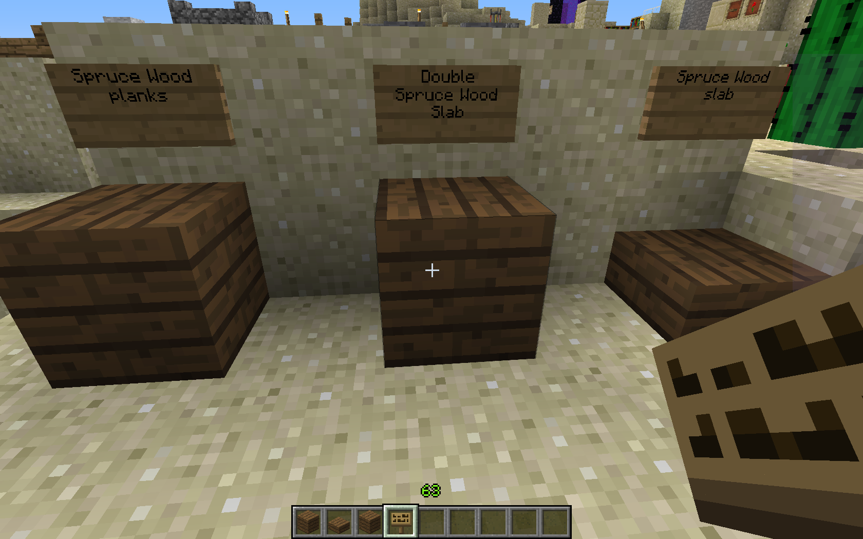 Jungle Wood Planks Minecraft