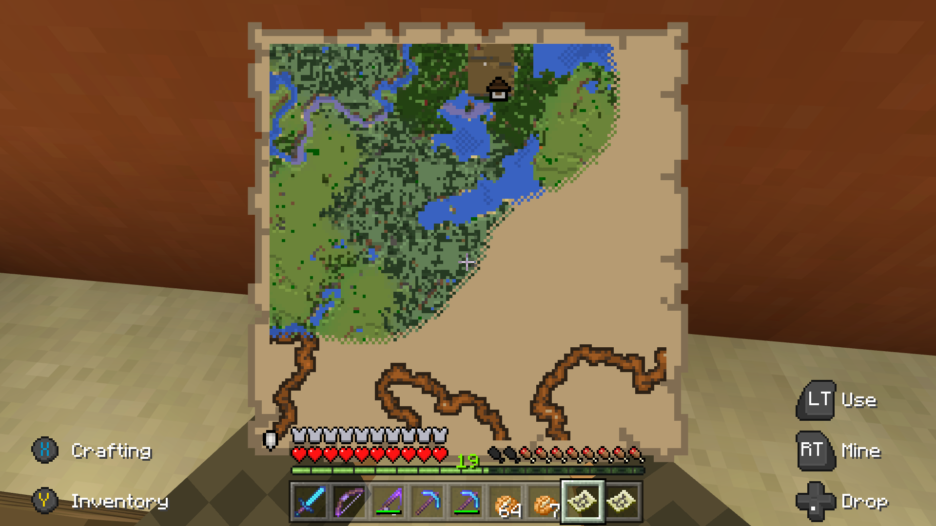MCPE The Same Explorer Maps Are Being Sold From Different - Maps fur minecraft 1 10