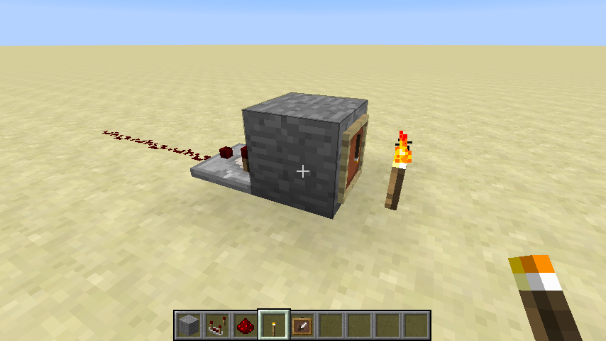MC-123437] Redstone comparator does not detect item frame - Jira