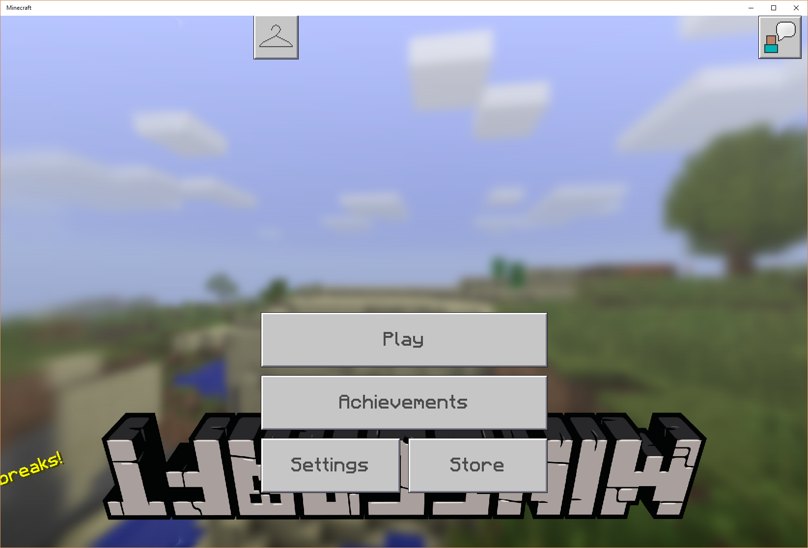Mcpe 30224 Can T Play After Update Title Screen Bugged Jira