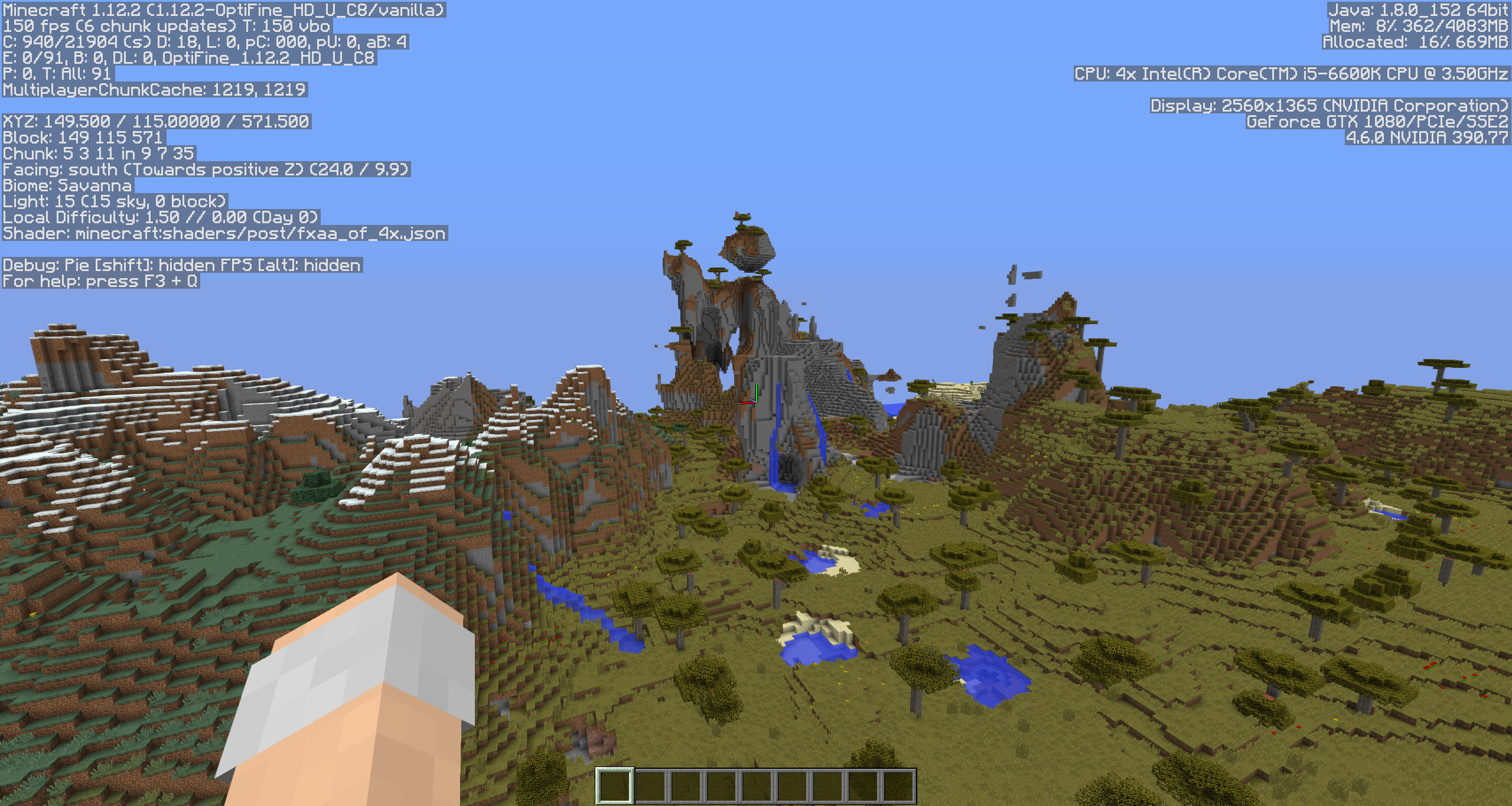 MC-125057] More or less inconsistent terrain generation in