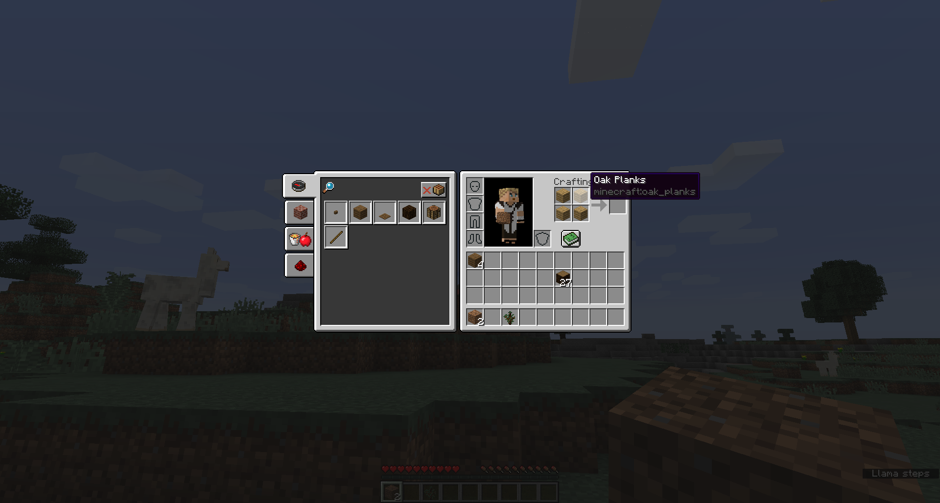 Crafting Table Shortcuts