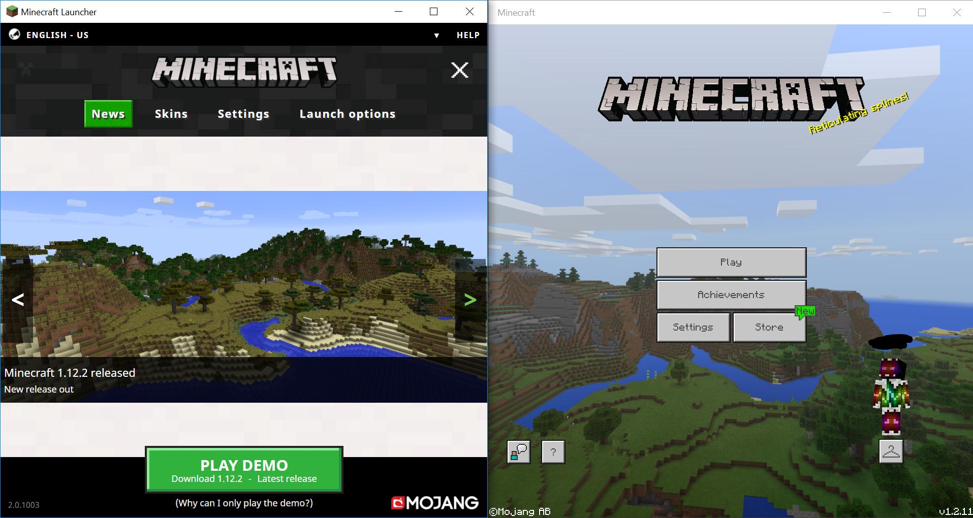mojang minecraft download windows 10