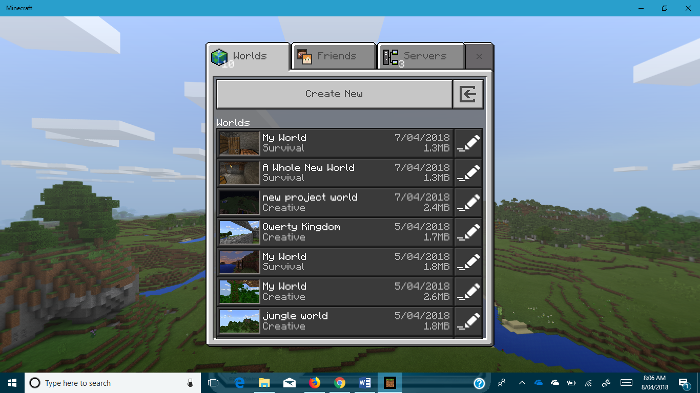 MCPE-32277] Minecraft world disappeared unexpectedly