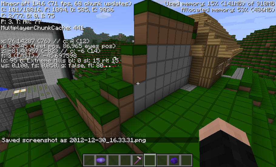 MC-2548] A chunk with previously generated data was cleared, all the