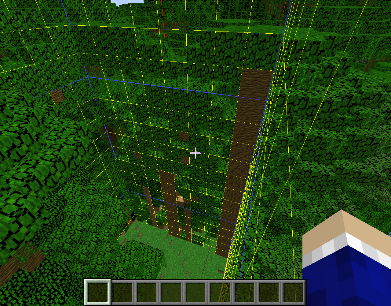 MC-128526] Jungle Trees split by chunk borders form only