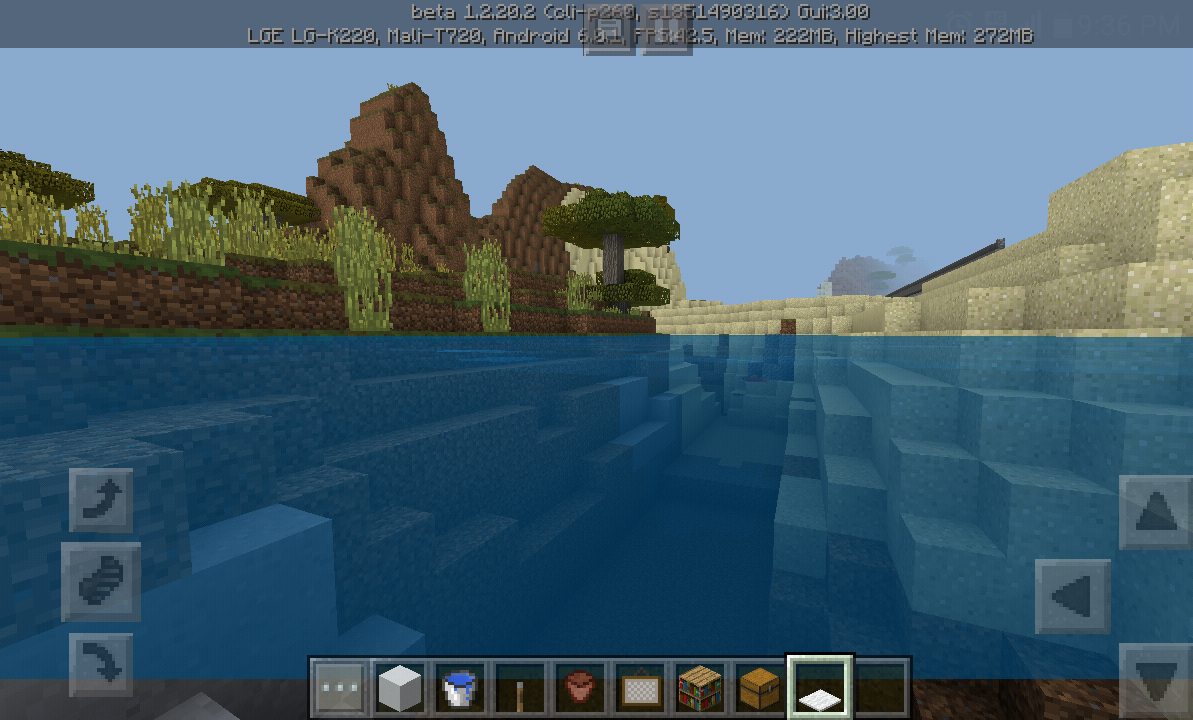 MCPE-32799] Water bug - screen turns black when swimming underwater