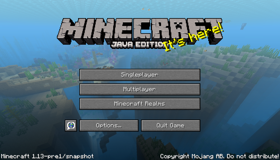 mc 130831 minecraft menu screen is very laggy jira. Black Bedroom Furniture Sets. Home Design Ideas