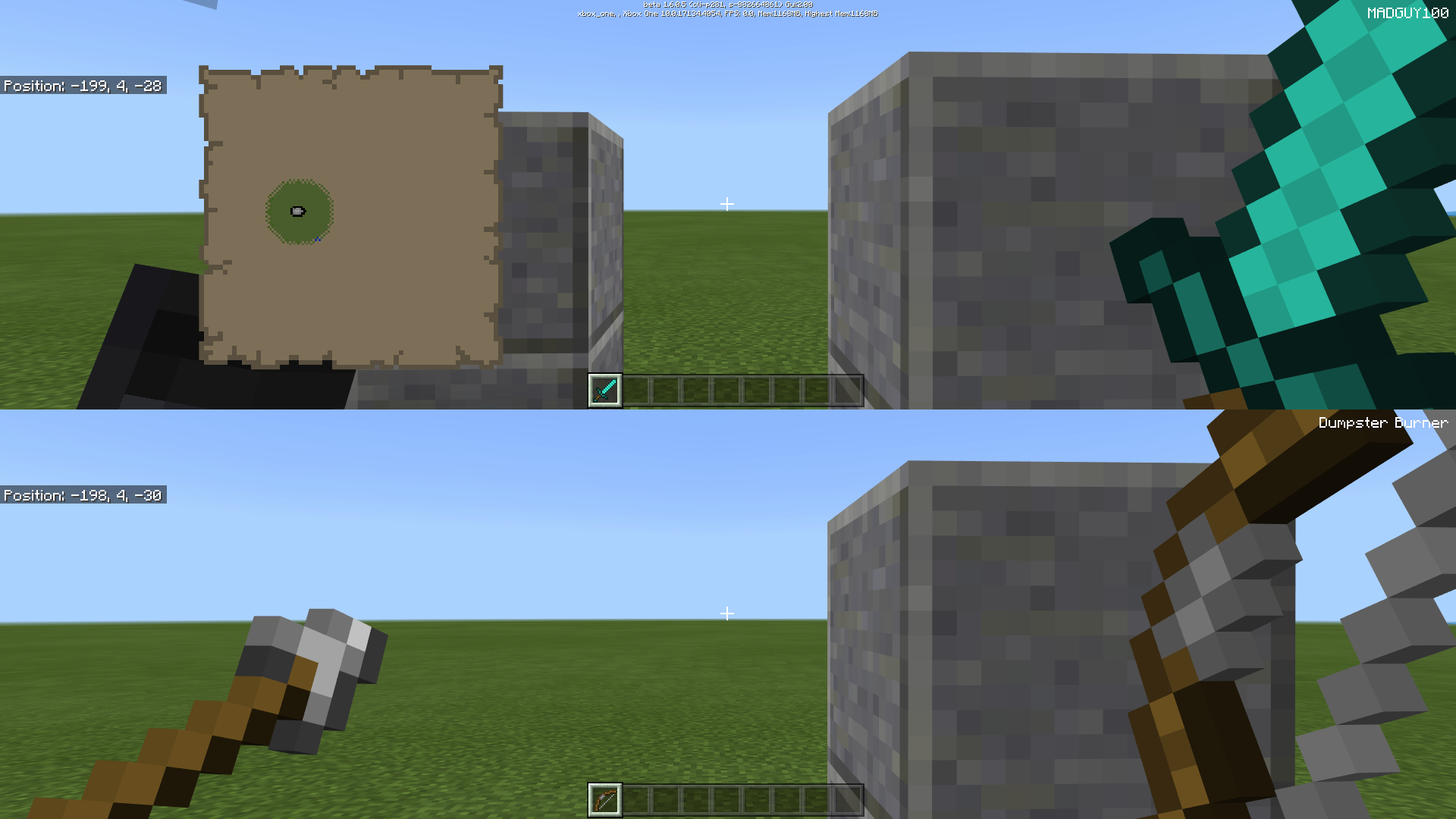 MCPE-25775] Items on hand too big in 2-players split screen