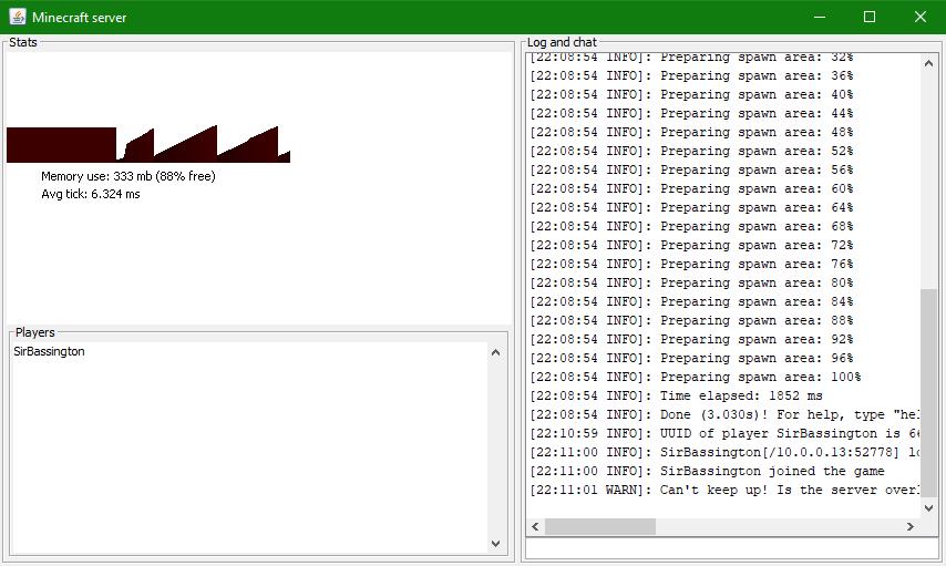 MC-135443] 1 13 Server Memory Usage Bug - Jira