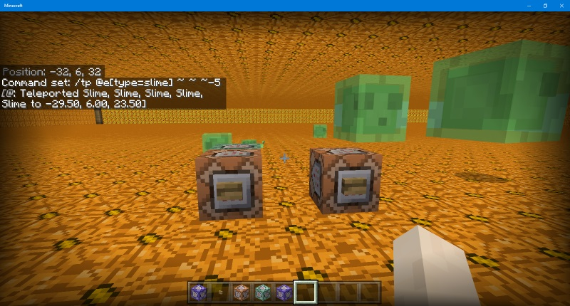 Mcpe 29401 no slimes jira the build consists of layers of lit pumpkins each with a 3 high air gap ccuart Image collections