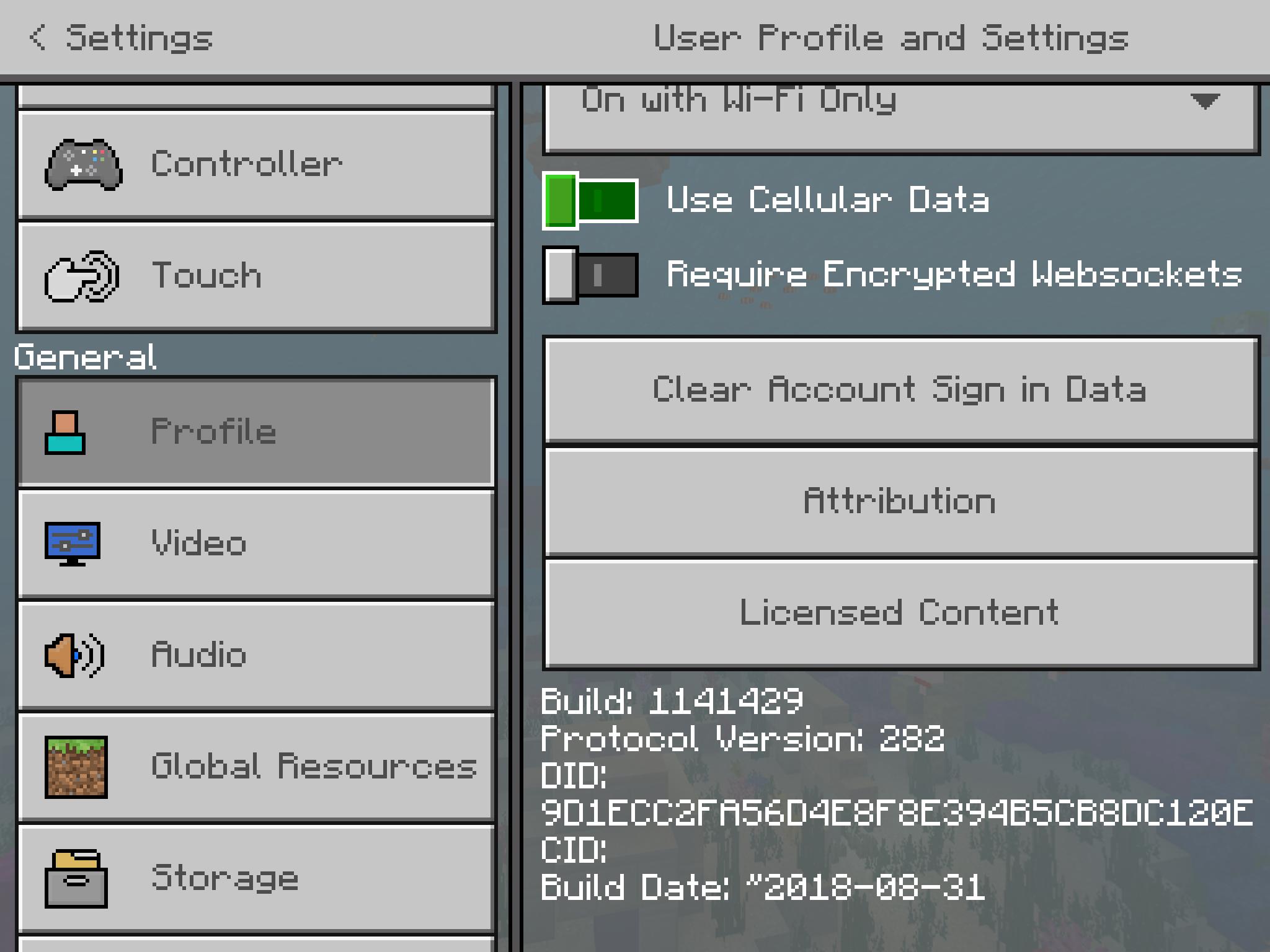 minecraft pe ipad controller