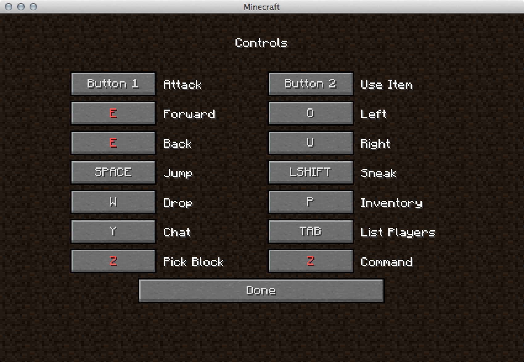 на какую кнопку чат в майнкрафте 1.7.2 #4