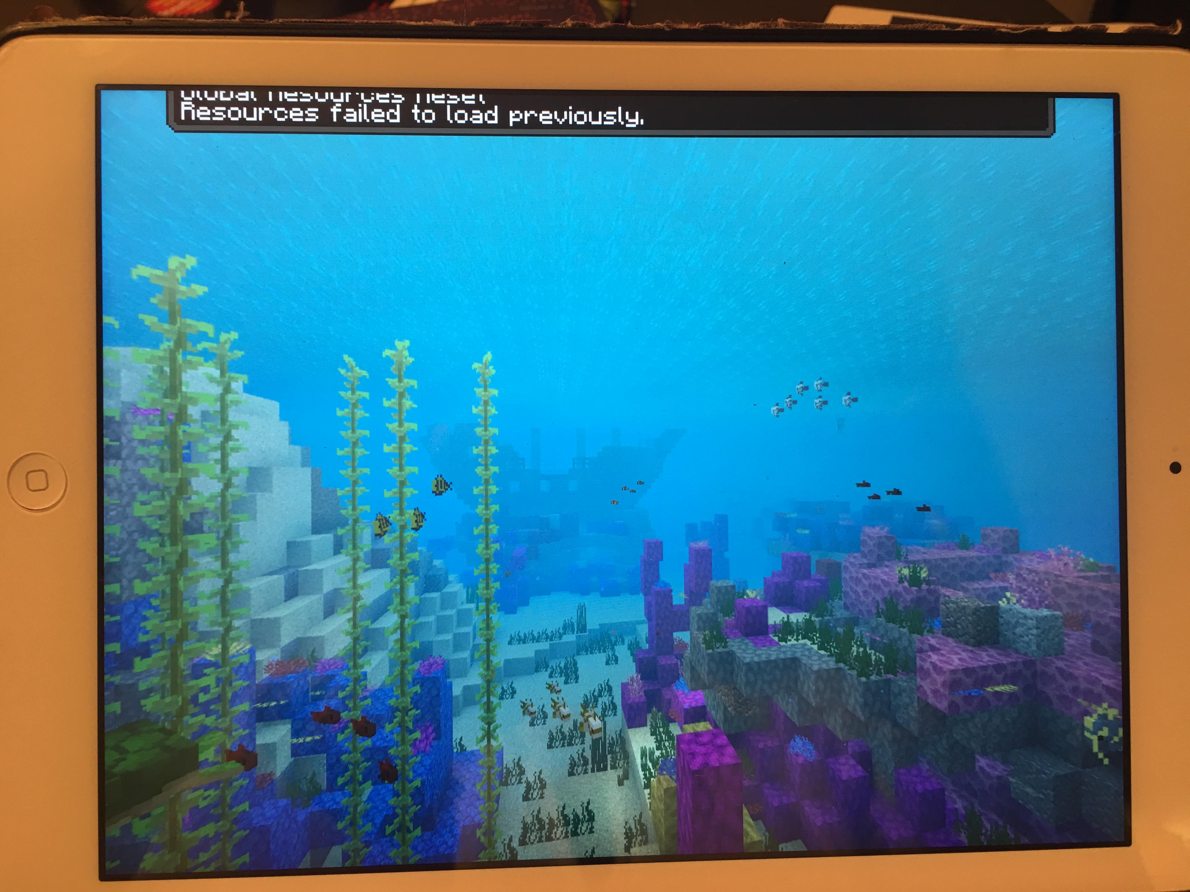 minecraft wont launch on ipad