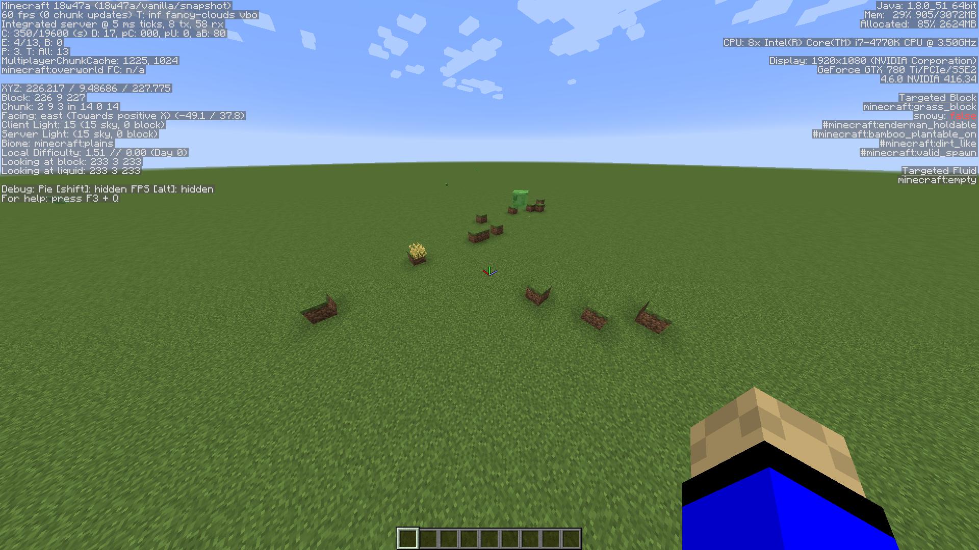 MC-139702] Random Blocks generating near villages in super