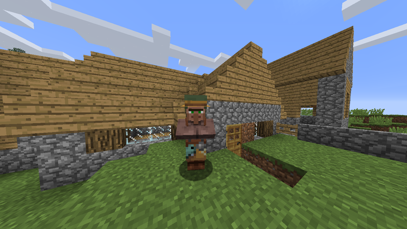 MC-141075] Villager textures are not displayed properly with