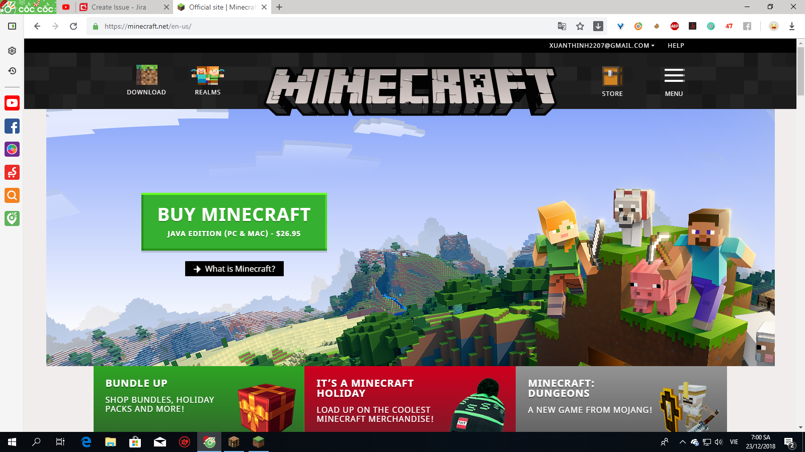 MCL-10327 My minecraft launcher can't refresh login and ...