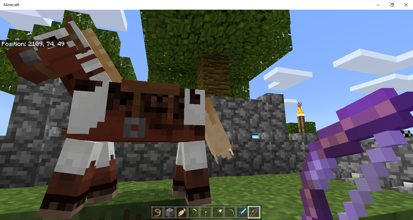 MCPE-40124] All dyed horse armor turned white - Jira