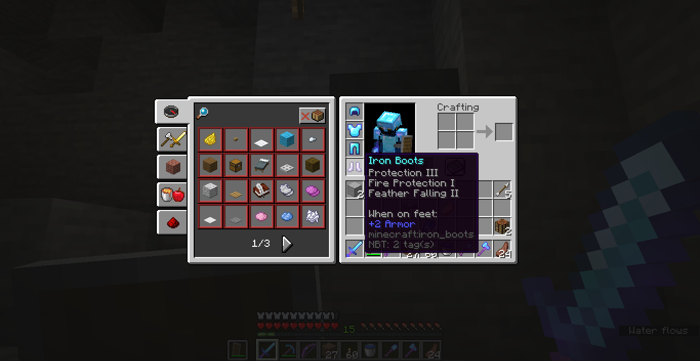 MC-10] Multiple protection enchantments on a piece of armor - Jira