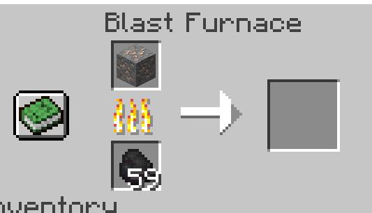 blast furnace recipe
